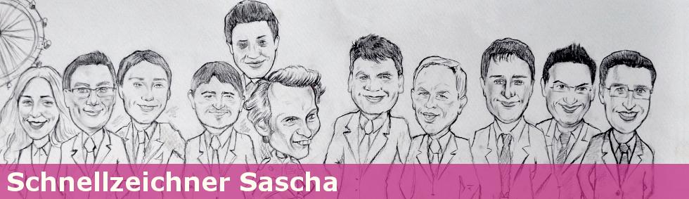Schnellzeichner Sascha - Beispiele